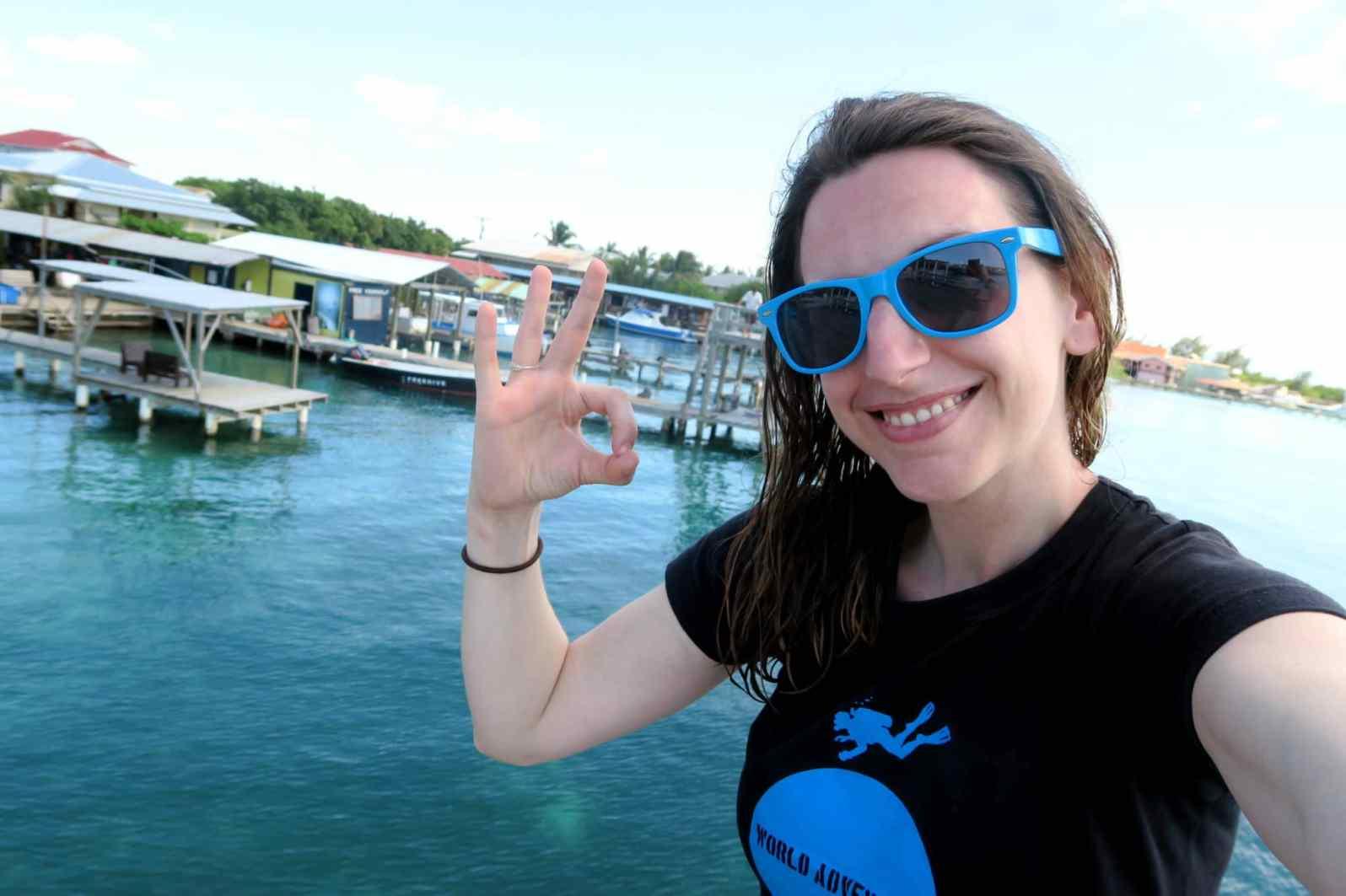 Florine World Adventure Divers at Utila Dive Center