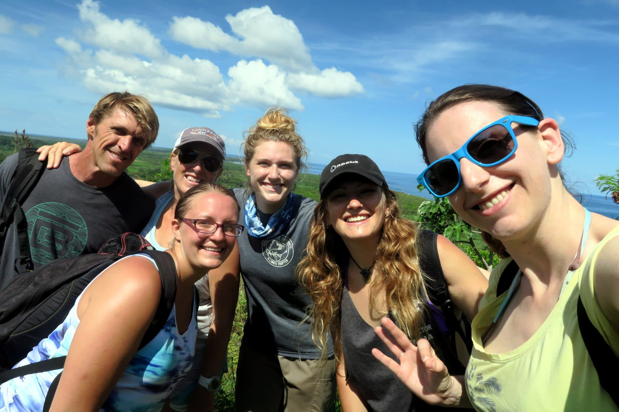 Hiking to Pumpkin Hill Utila Honduras