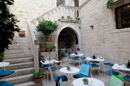 Restaurant Palace of Diocletian Split Croatia