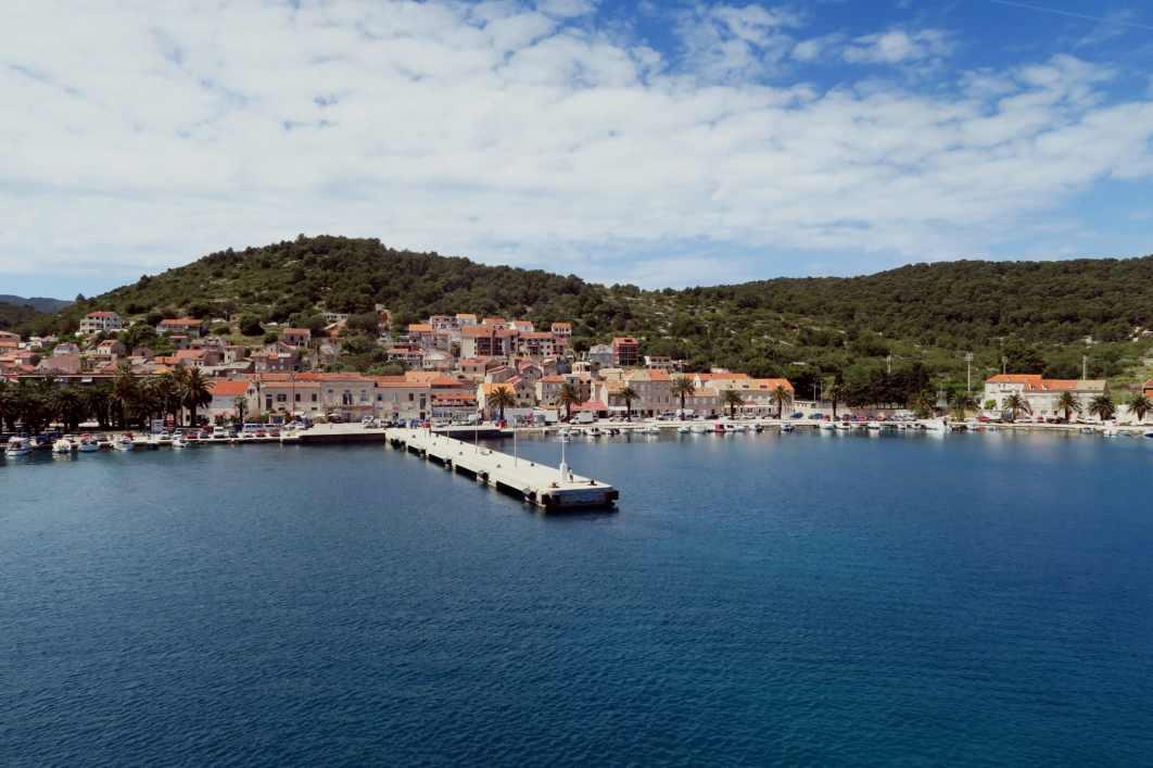 Vis Ferry Pier Croatia
