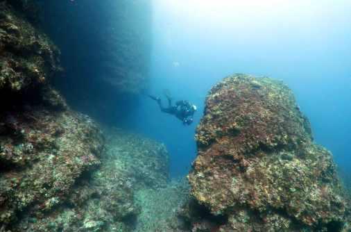 Scuba diving Vis Island Croatia