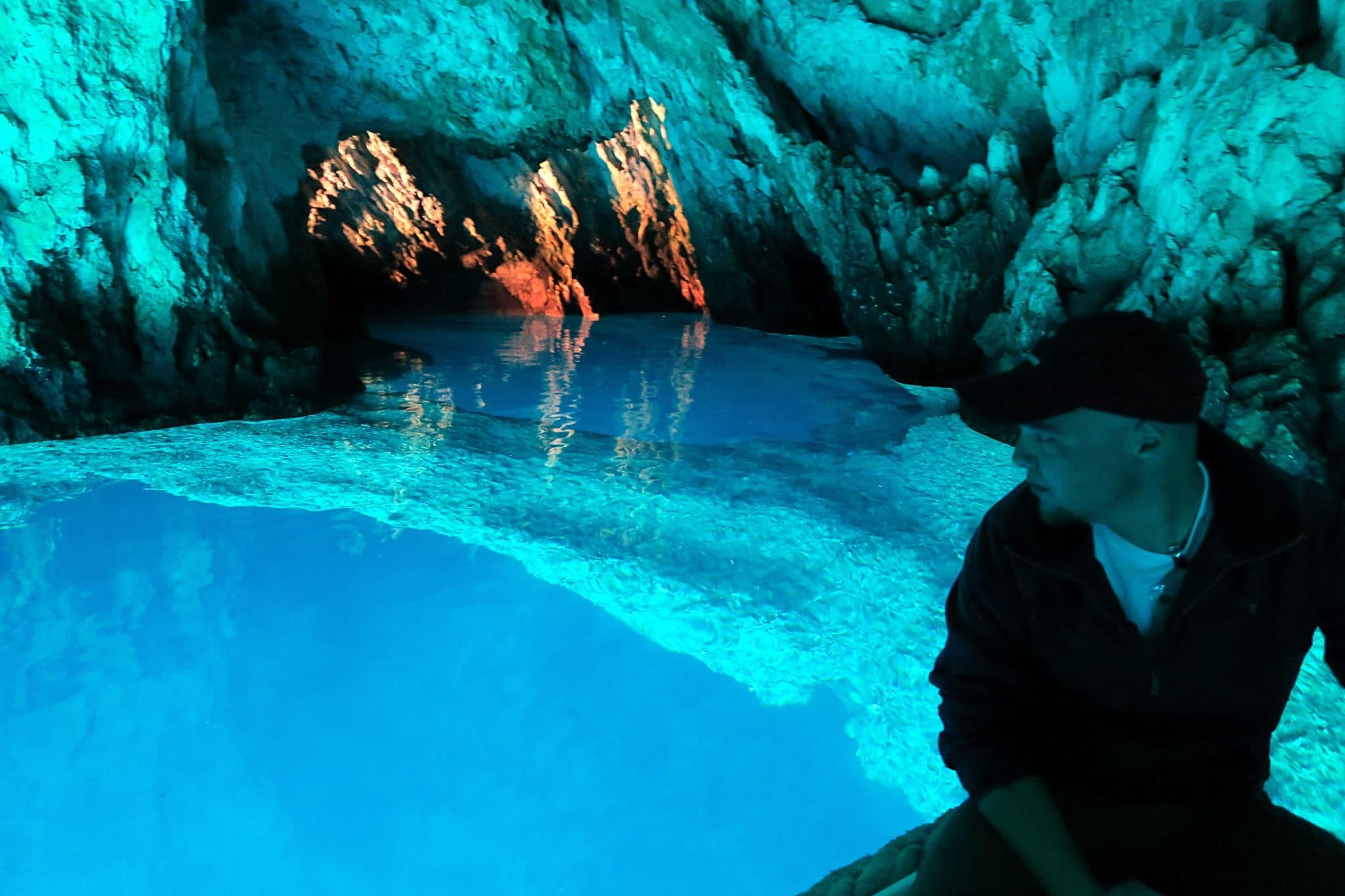 Modra Spilja Blue Cave Bisevo Island Croatia