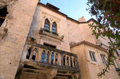Old town Hvar Croatia