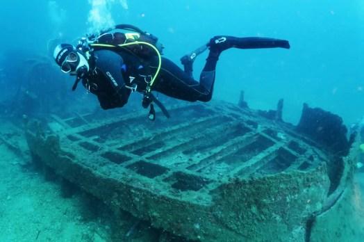 Scuba diving Toulon France