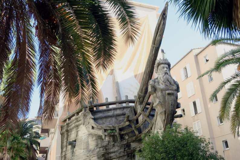 Toulon Old City Centre France