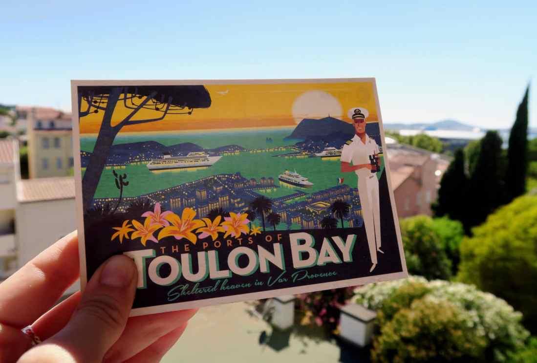 Toulon Bay ports French Riviera France