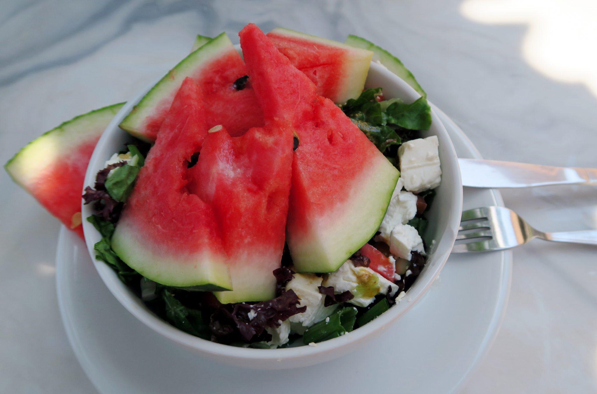 Watermelon salad Alonissos Hotel