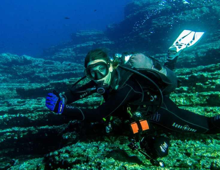 Scuba diving in Alonissos Greece