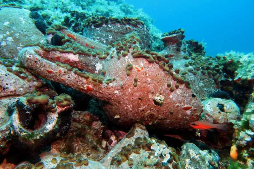 Scuba diving at Agios Petros Reef Alonissos Greece