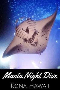 Manta Night Dive Kona Hawa