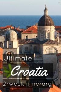 Ultimate Croatia 2 week itinerary