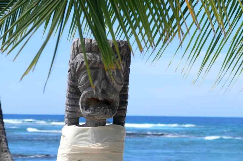 Safe place to travel - Honaunau National Historical Park Big Island Hawaii