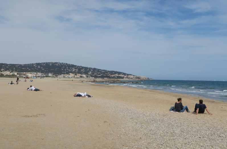 Lido Beach Sète France