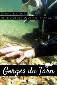 River diving Gorges du Tarn