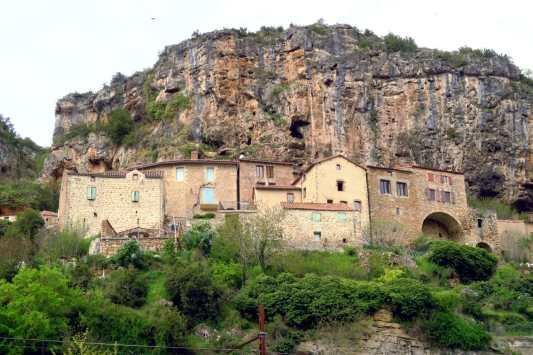 Peyre village Aveyron France