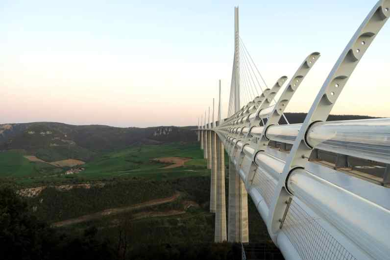 Millau Viaduct Aveyron France