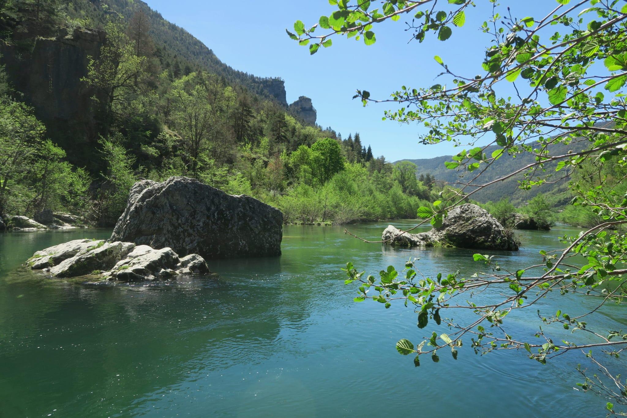 Pas-de-soucy Gorges du Tarn France