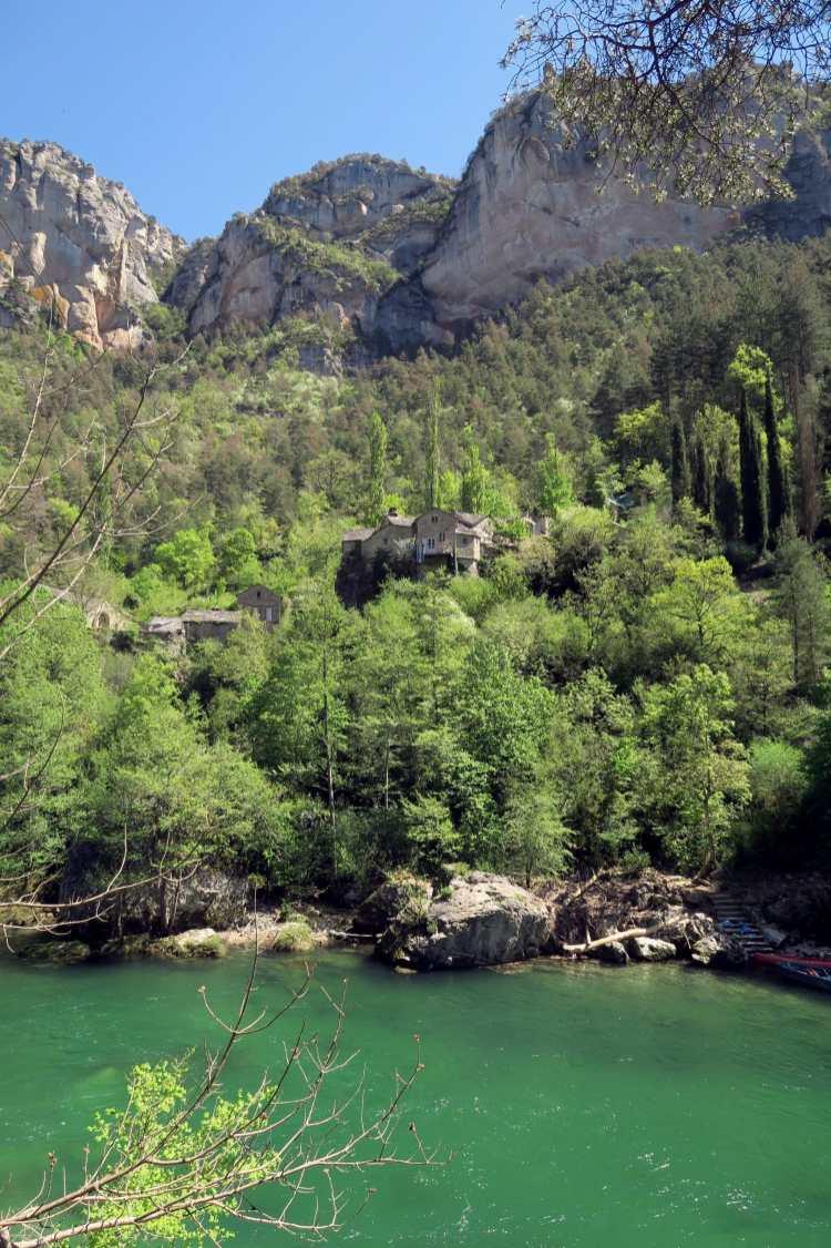 La Sablière Gorges du Tarn France