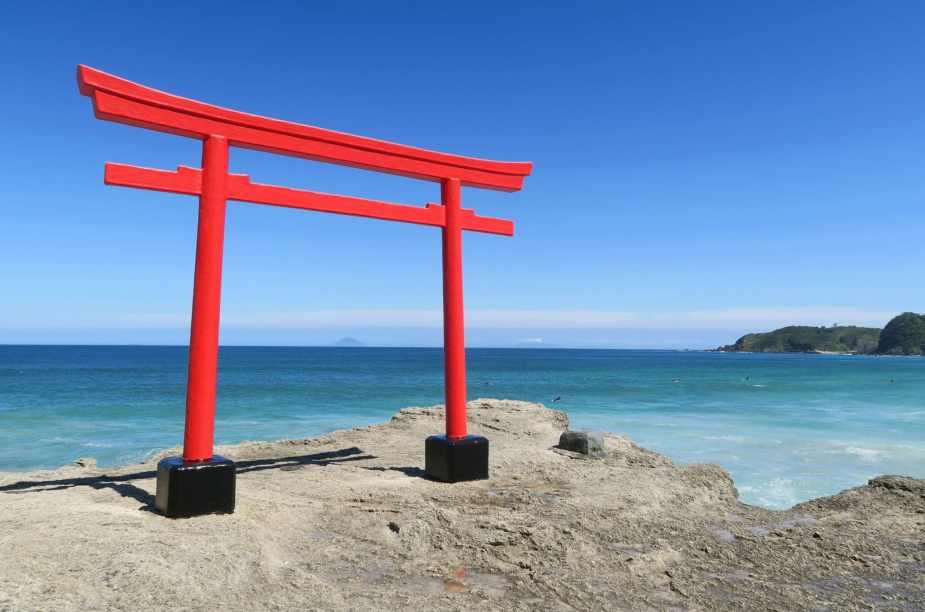 Safe place to travel - Shirahama Shrine Shimoda Izu Peninsula Japan