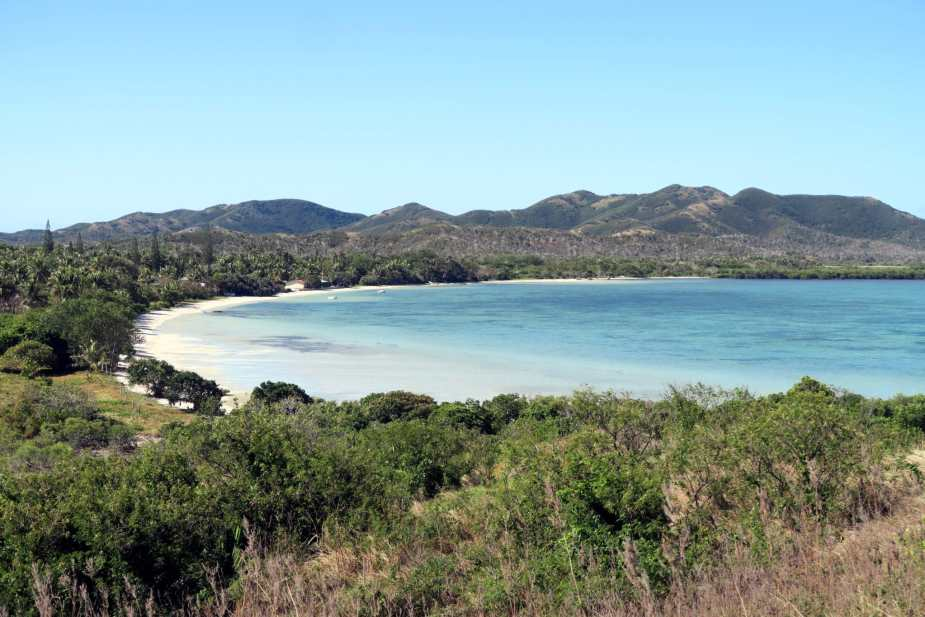 Bay of Tiabet New Caledonia