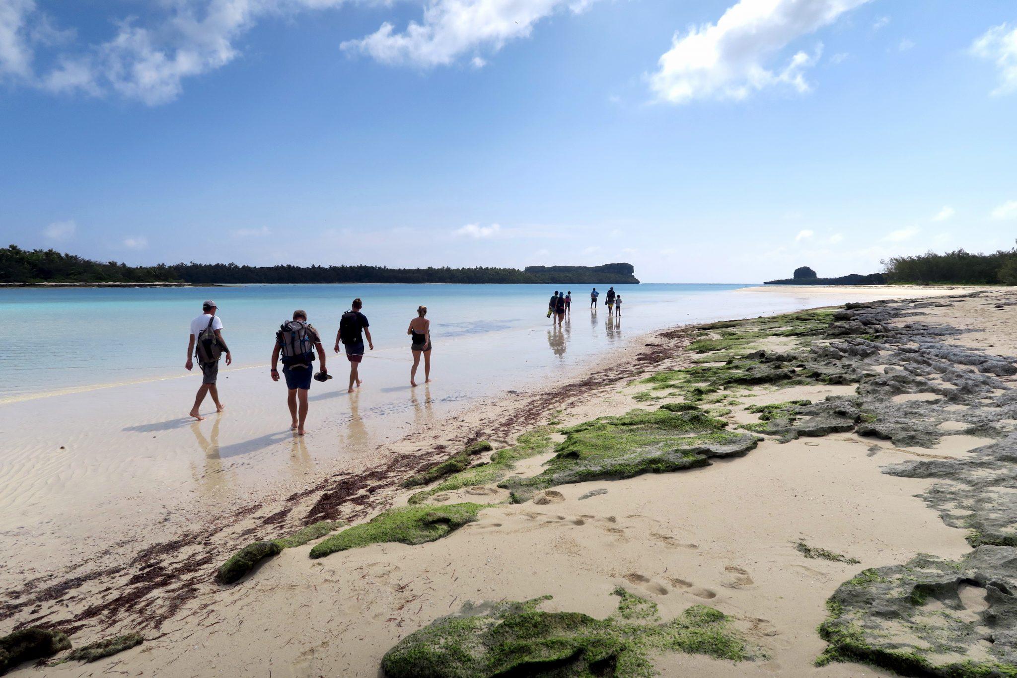 Hiking Ouvea New Caledonia