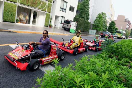 Mario Kart Akihabara Tokyo Japan