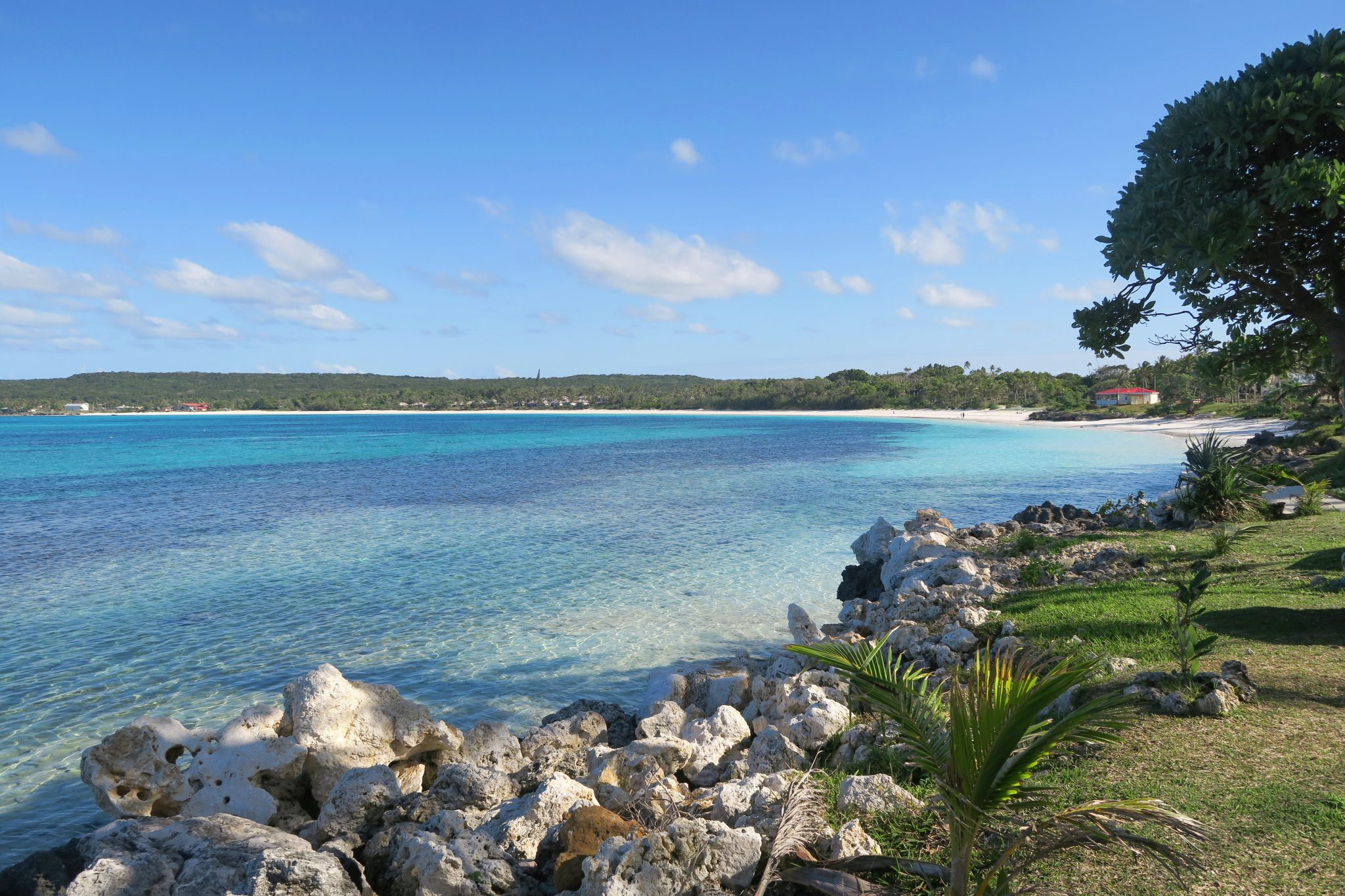 Chateaubriand Bay Lifou New Caledonia