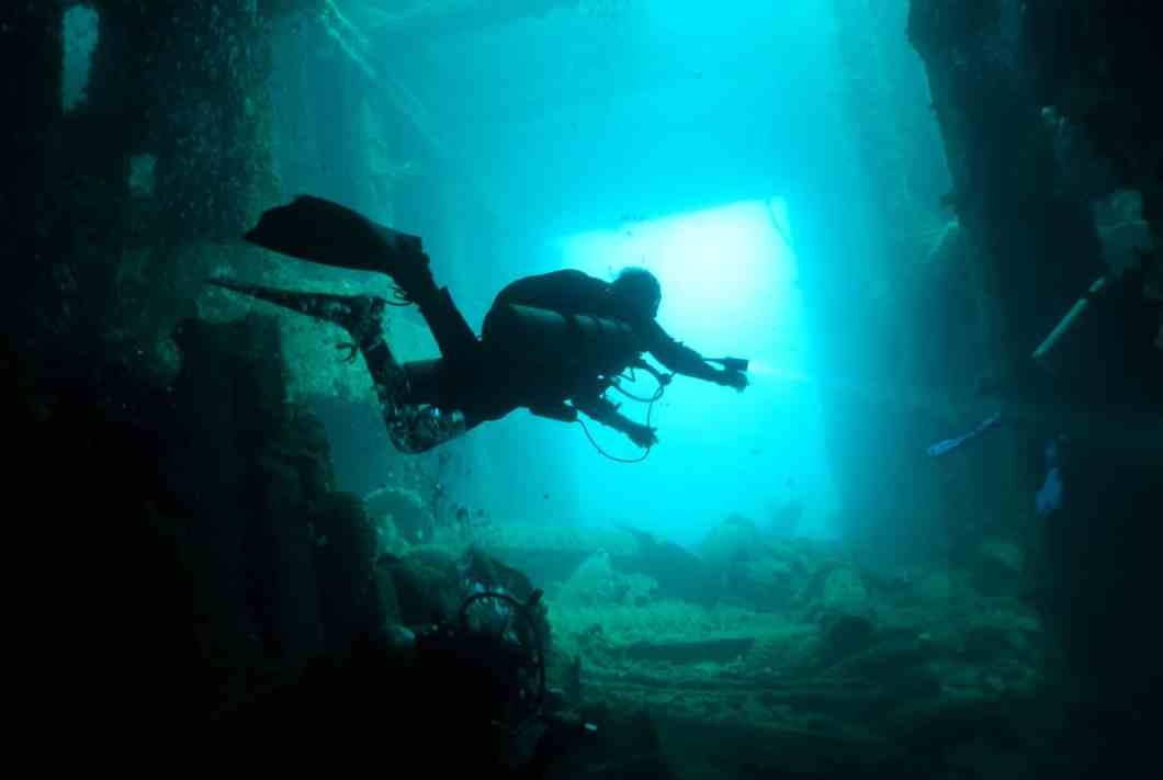 wreck diving President Coolidge Vanuatu