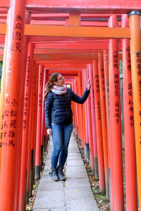 Nezu Shrine Yanaka TOkyo Japan