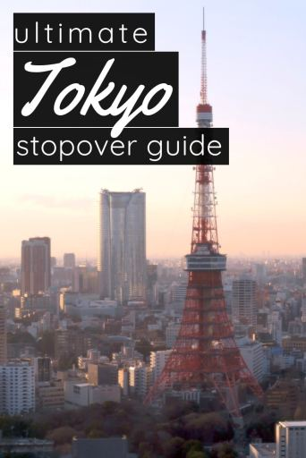 ultimate stopover guide in Tokyo