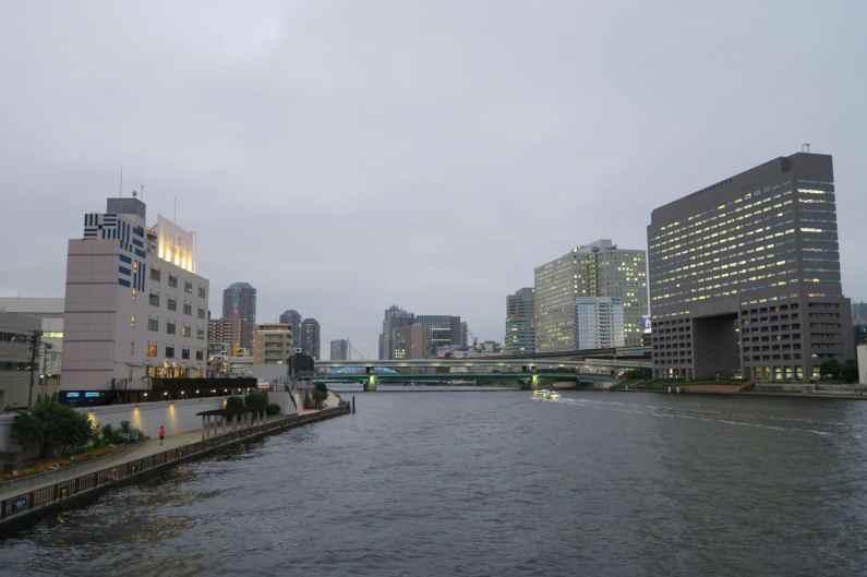 Lyuro Shared Hotels on Sumida River banks Kiyosumi Tokyo Japan