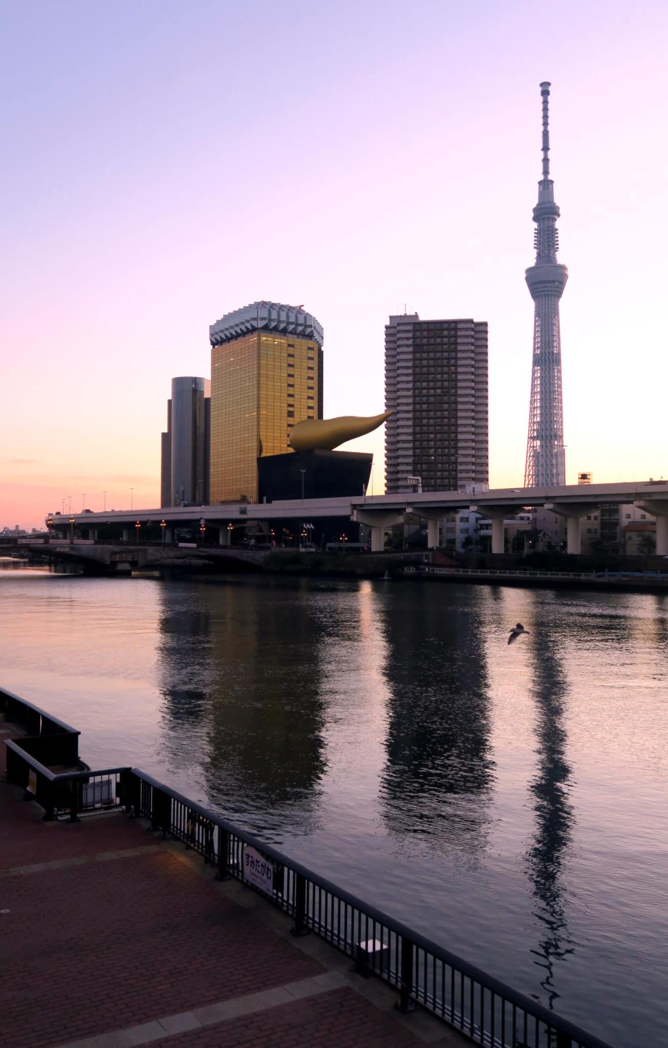 Tokyo Tower à l'aube