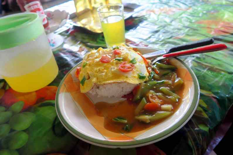 Meal Booths Luganville Santo Vanuatu