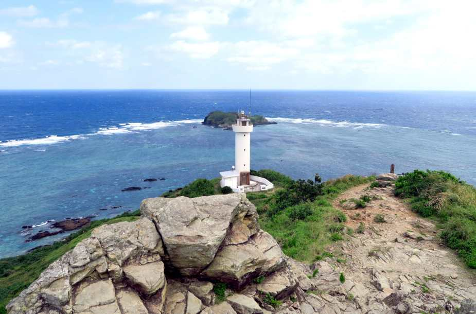 Hirakubo Lighthouse Ishigaki Okinawa Japan