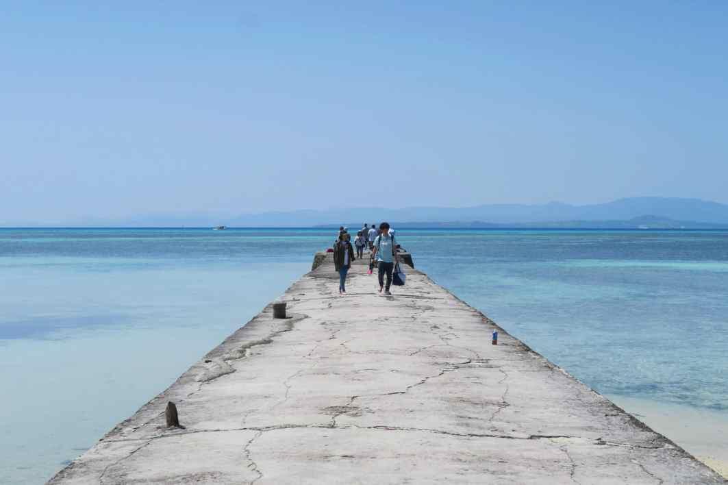Nishi Pier Taketomi jima Okinawa Japan