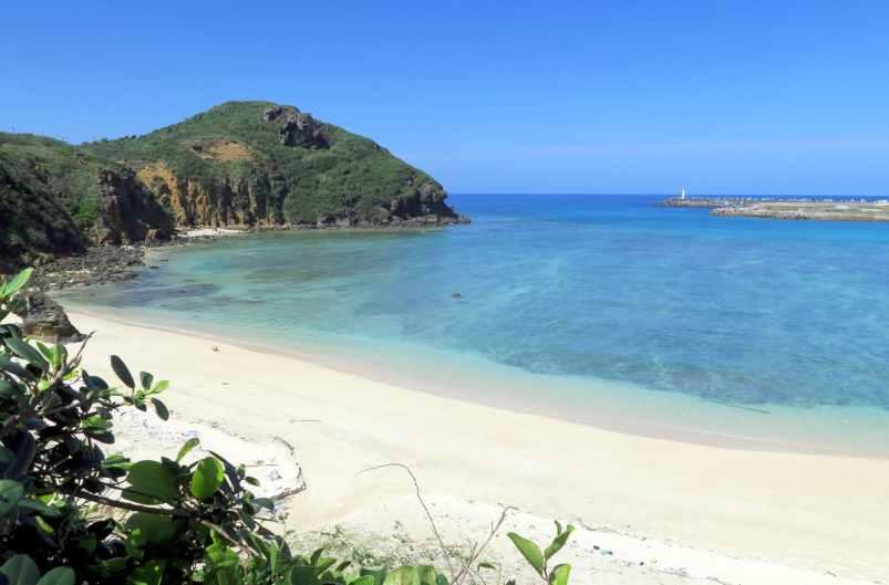 Kubura Beach Yonaguni Okinawa Japan