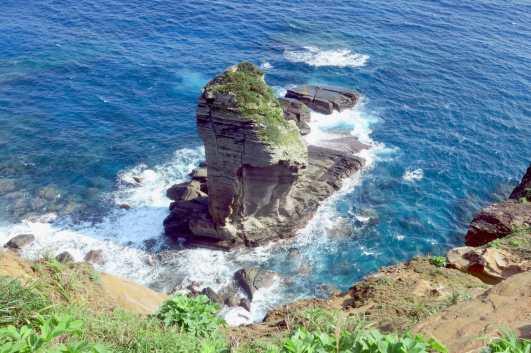 Tategami Rock Yonaguni Okinawa Japan