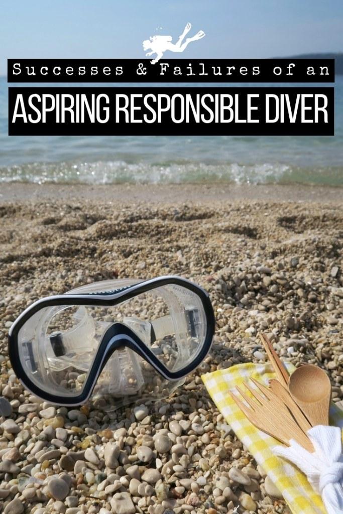 Aspiring responsible diver