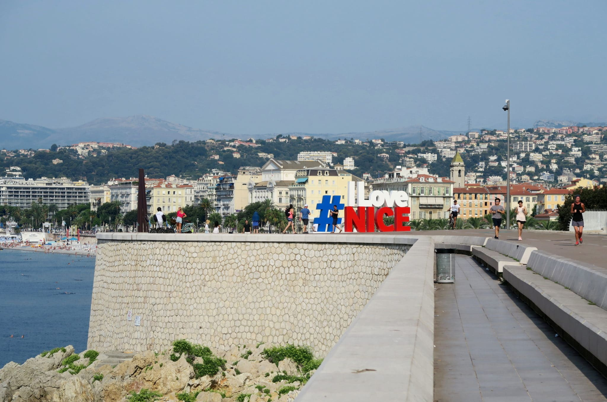 I love Nice sign - Visit Nice French Riviera