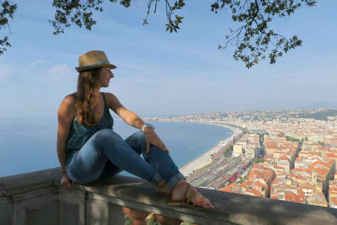 Best view point in Nice French Riviera