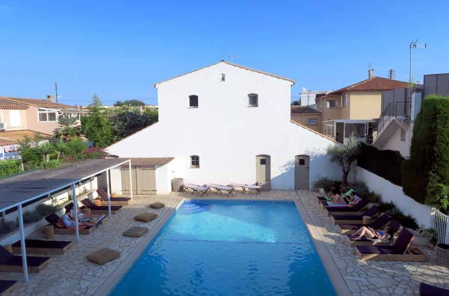 Blanc Sable hotel Golfe Juan French Riviera
