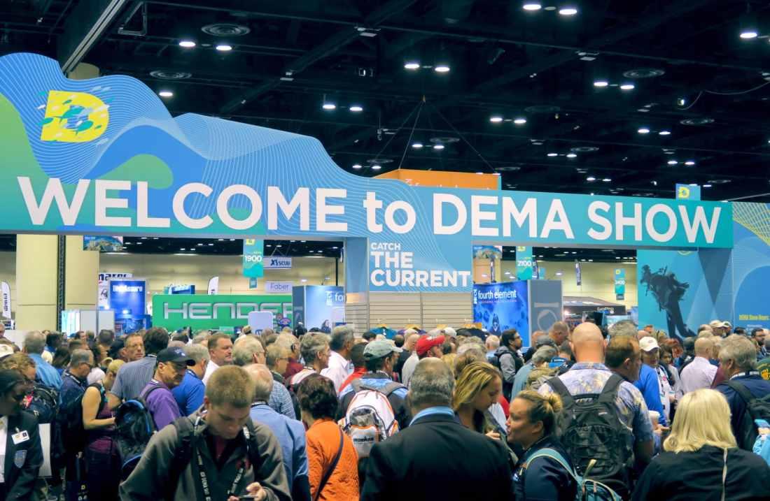 DEMA show 2019 - salon du DEMA Orlando Florida