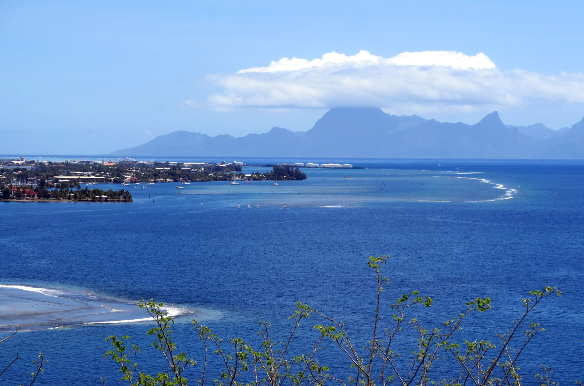 Tarahaa Viewpoint Tahiti