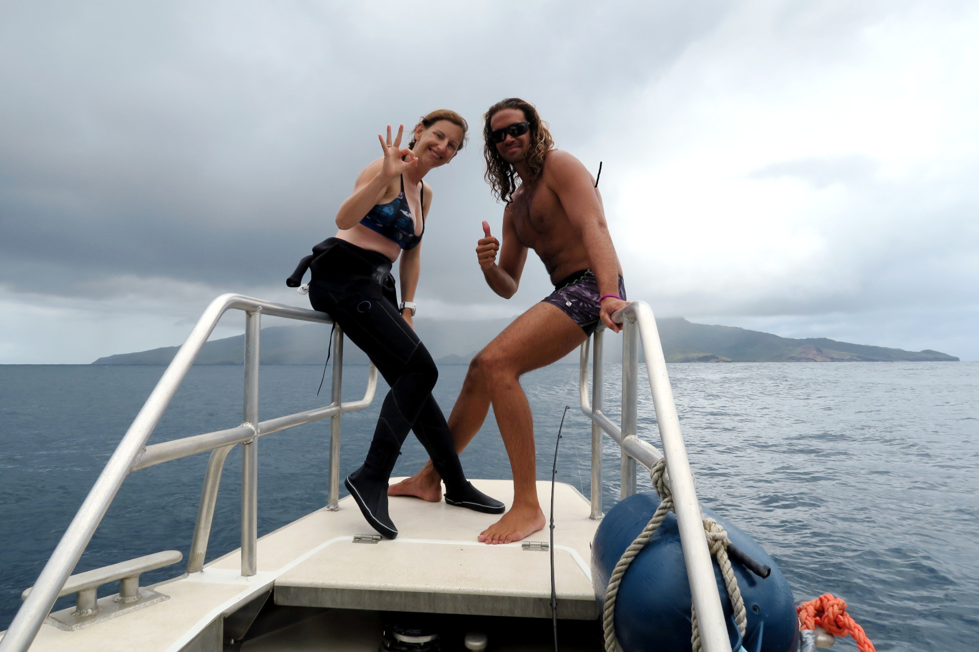 diving in Marquesas Islands