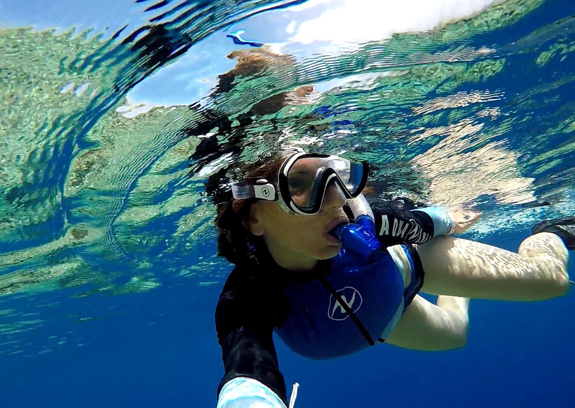 Snorkelling Fakarava Tuamotu French Polynesia