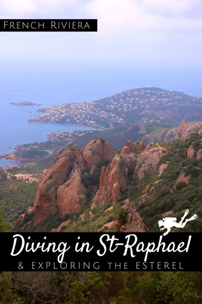 Diving in St Raphael - Exploring the Esterel - pin1