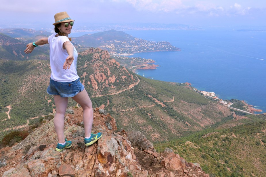 Hiking to the top of Cap Roux - Esterel