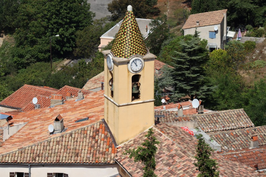 St-Agnes bell tower French Riviera