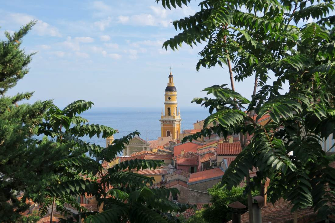 Menton Old Town French Riviera