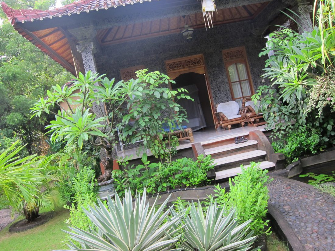 Amed beach front bungalow Bali